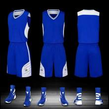 A+++Basketball Jersey Basketball Training Suit Adult Children Sportswear Team Jersey Customized(China)