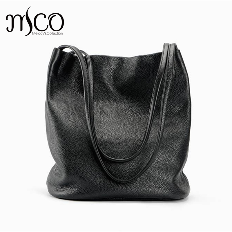 Fashion Bucket Bag Ladies Real Leather Shoulder Bag Women Genuine Leather Crossbody Bags Female Luxury Tote Satchel Dollar Price 2016 women fashion brand leather bag female drawstring bucket shoulder crossbody handbag lady messenger bags clutch dollar price