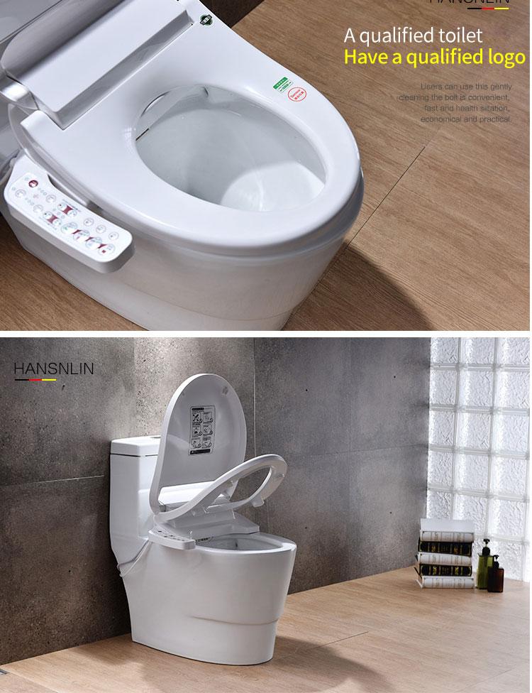 Smart Toilet Seat Washlet Elongated Electric Bidet Cover