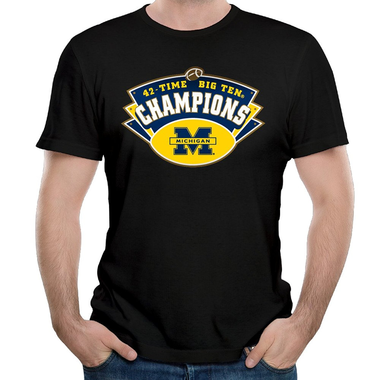 Design t shirts to sell - Gildan 2017 Fashion Hot Sell Print T Shirt Men Summer Design T Shirt Men S High Quality Men Michigan Footballer T Shirts