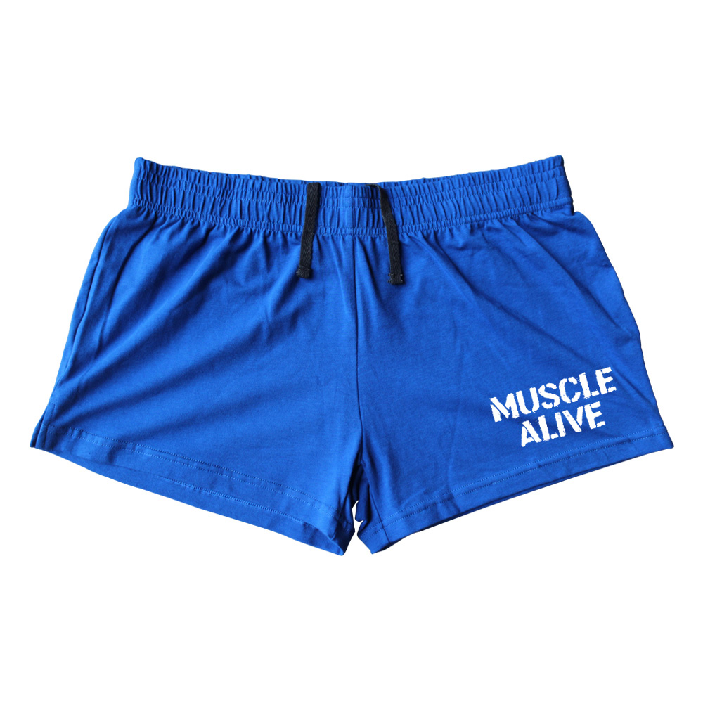 Muscle Alive Sportswear Shorts Pria Bodybuilding Shorts Pria Workout - Pakaian Pria - Foto 2