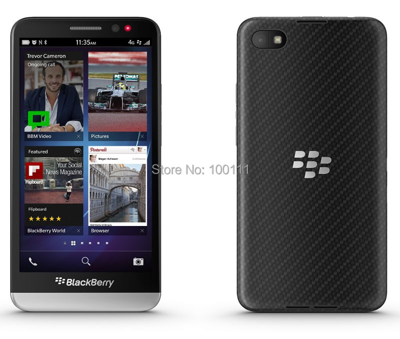 "Unlocked BlackBerry Z30 phone 5.0 ""touchscreen Dual-core 8MP + 2MP Camera 2 GB"