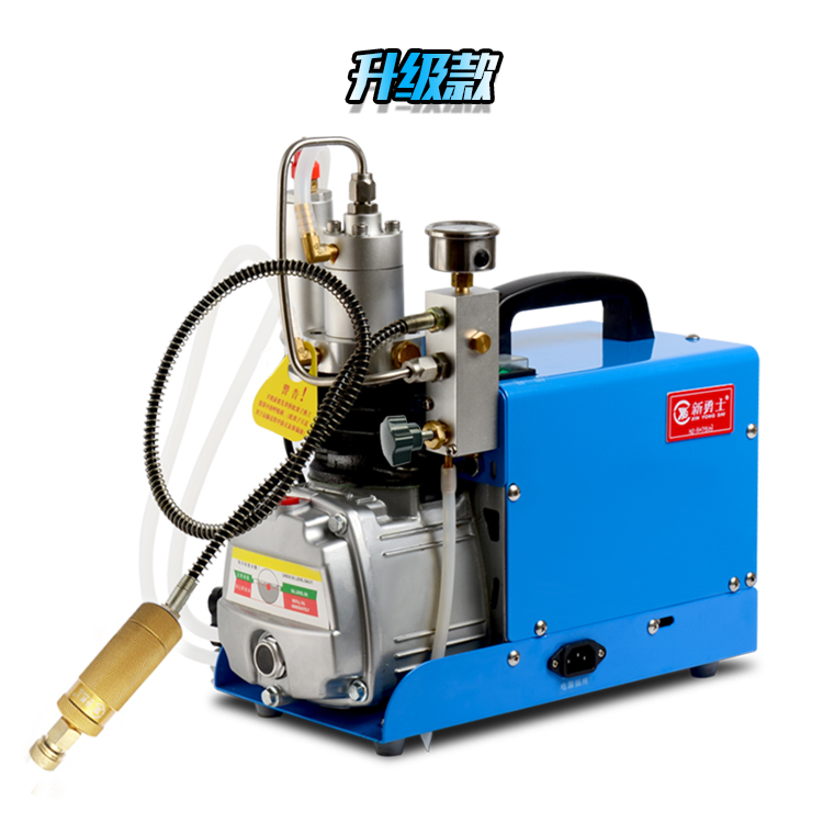 High pressure mini air compressor water oil separated air pump 30MPA air inflating machine diving bottle pump water cooling sys. 90 corner clamp shopify