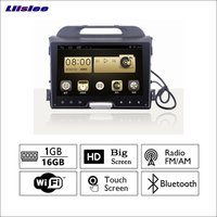 Liislee For Kia Chi Run Car Radio GPS Audio Video Multimedia Player WiIFi DVR Navigation Android