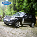 1:18 Scale New Range Rover Diecast Car Suv Model GT AUTOS Diecast Car Model Collection gifts Original  Box