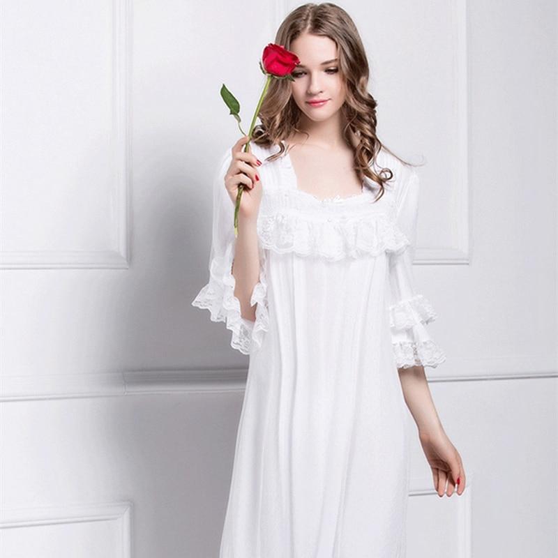 Sleeping Gown: Aliexpress.com : Buy Summer Sleeping Dress For Women Lace