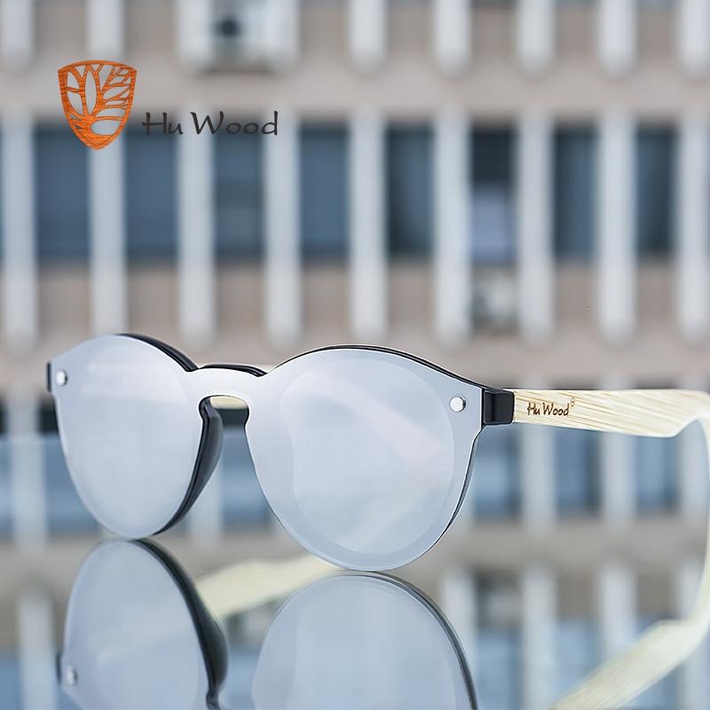 HU WOOD Men Mirror Linser Trä Solglasögon Multi Color Woman - Kläder tillbehör - Foto 6