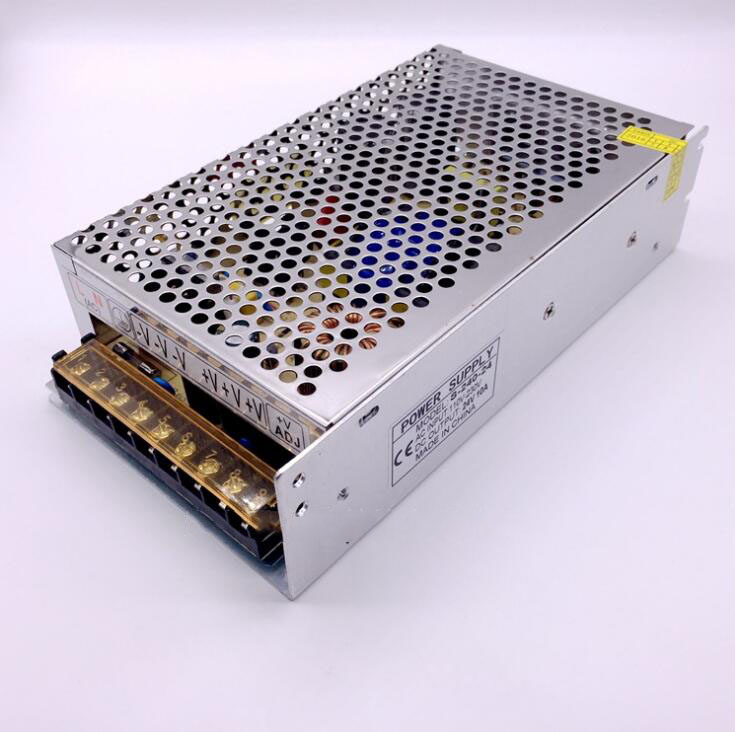 10A 240W AC power supply 24V adjustable switching power supply AC110V/220V to 24V security LED power supply
