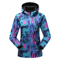Fashion Camouflage Spring Autumn Windbreaker Softshell Jacket Women Breathable Outdoors Soft Shell Coat Warm Fleece Inner Casaco