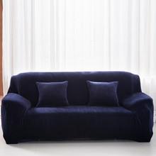 Sofa font b Chair b font Slipcover Plush font b Chair b font Loveseat Sofa Cover