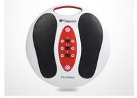 Health Care Electric Foot Massager Shiatsu Reflexology Vibrating Roller Foot Massage Health Infrared Heating machine
