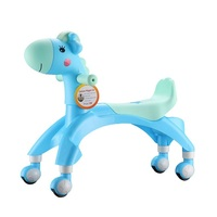 Baby Toddler Walkers Cartoon Kids Balance Bike Learn To Walk Adjustable first walkers scooter balance Riding indoor Toys outdoor
