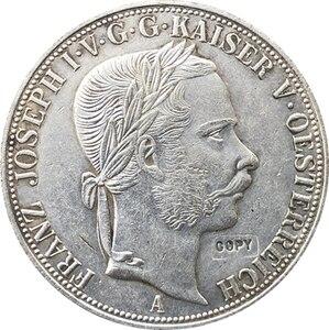 1867 Австрийские монеты 3 1/2 гульден 41 мм