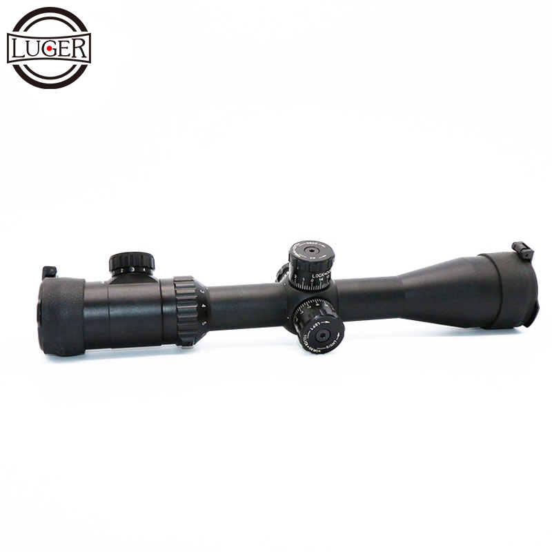 LUGER 2.5-10X44SFIR Scopes Hunting Optical Sight Riflescope Fits 11mm/20mm Rail Mount For Airsoft / Hunting Rifle luger vt 3 12x42 aoe hunting scope riflescope fits 11mm 20mm rail mount tactical optics sight scopes for airsoft sniper