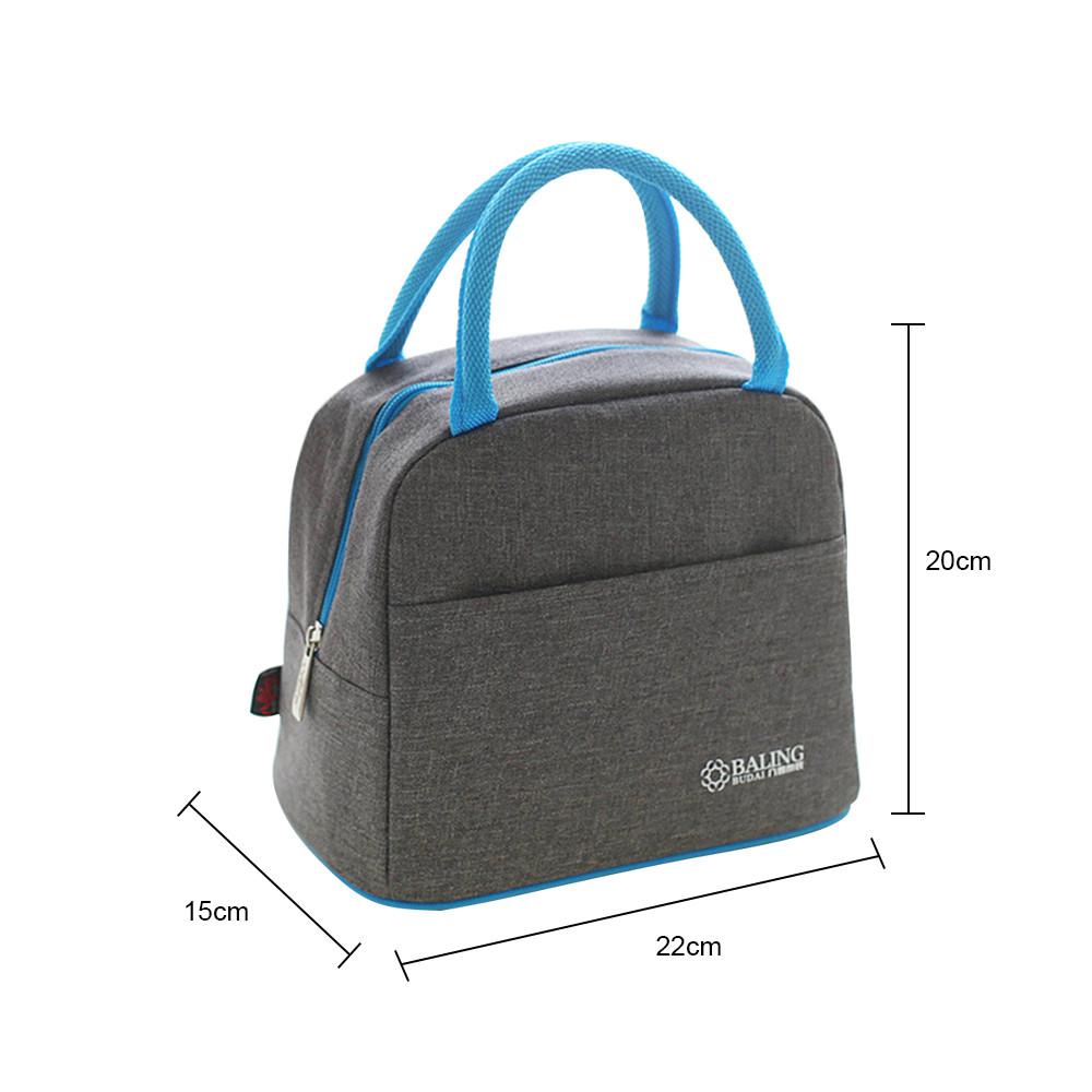 Large Thermal Lunch Bag Women Portable Thermo Bag Travel Picnic Tote Insulated Food Beverage Storage Accessories Supply 12.1