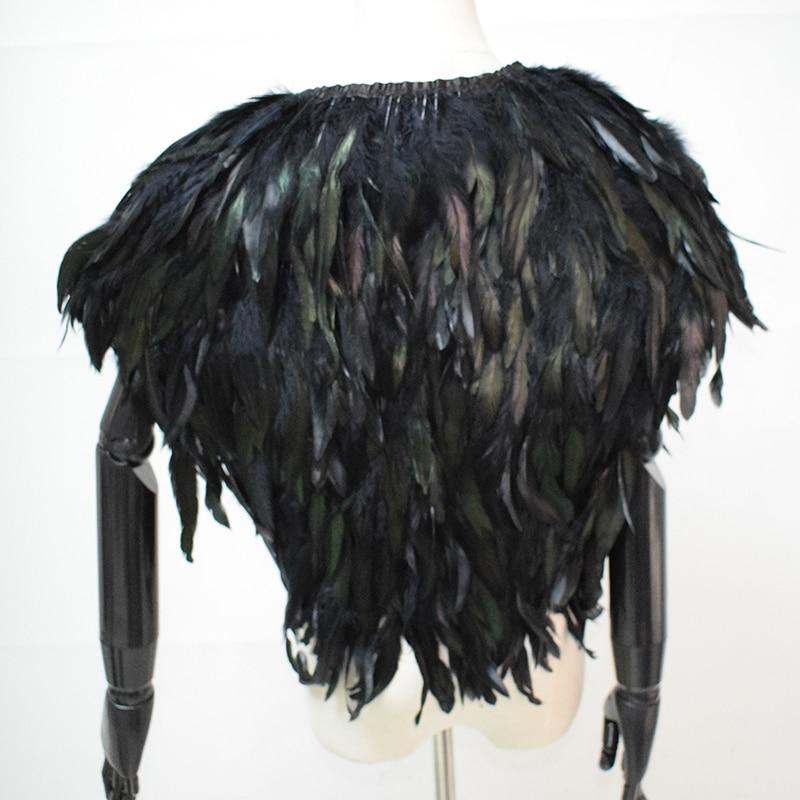 [XITAO] New Winter Fur Coat Kort avsnitt Fjær Vest Vester Vest Sjal - Kvinneklær - Bilde 2