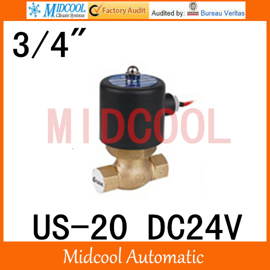 High quality high temperature steam solenoid valve DC24V port 3/4 two position, two way US-20 high quality high temperature steam solenoid valve dc24v two position two way us 15