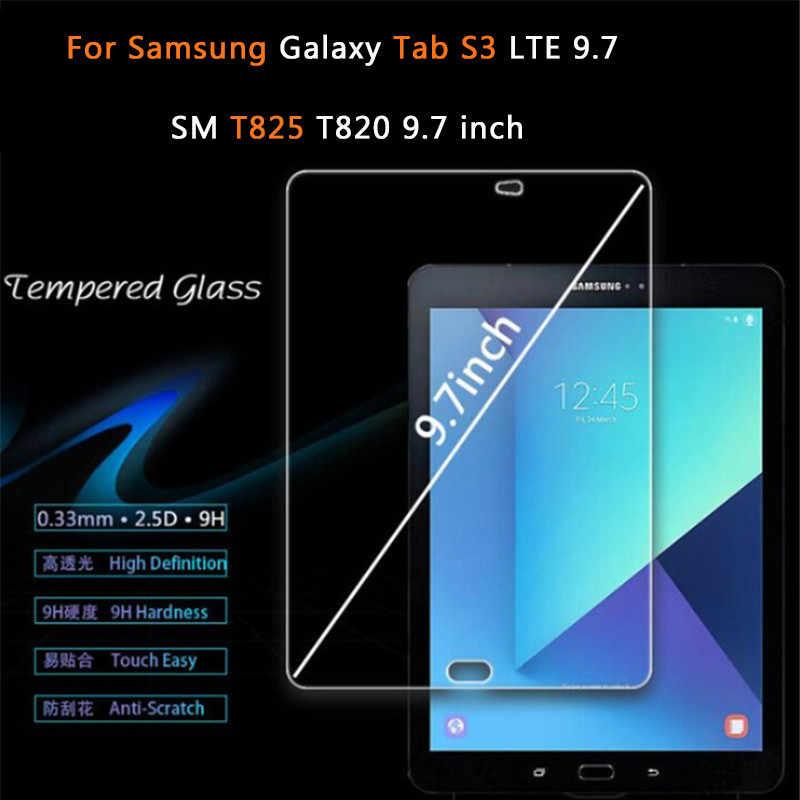 Hadiah Gratis + Lengan Kantong Tas Case untuk Samsung Galaxy Tab S3 LTE 9.7 SM T825 T820 9.7 ''Layar pelindung Untra Slim Case Tablet