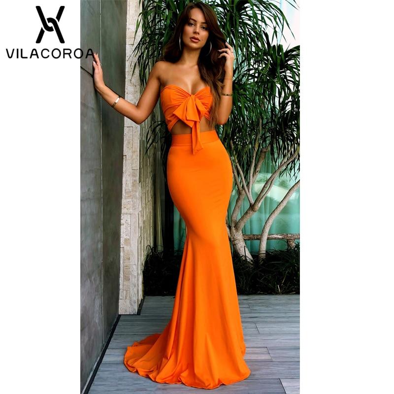 Top Bag Hip Fishtail Dress Women Long Beach Dress  1