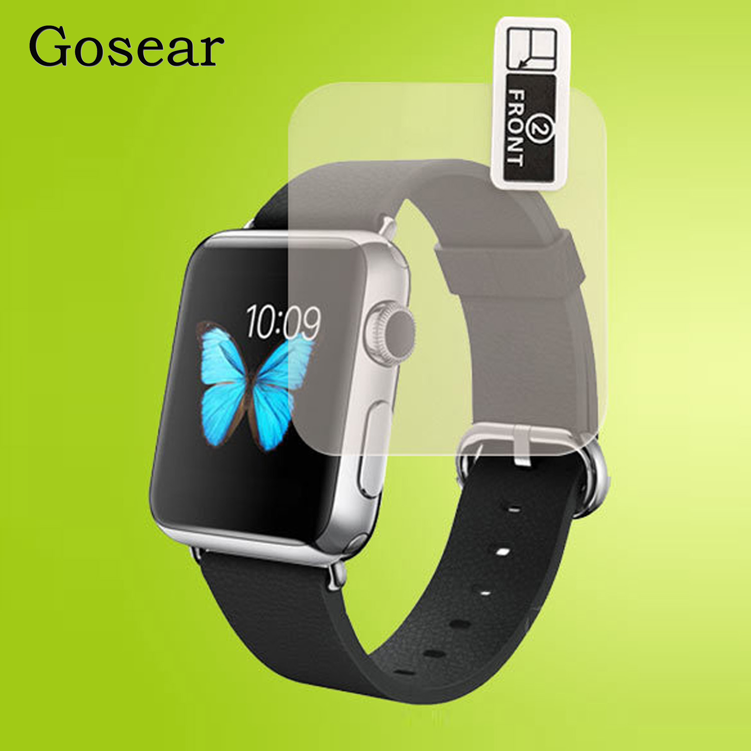 7423c79d75d Gosear 4 PCS TPU Full Cover High Definition Screen Protector Film For Apple  Watch iWatch Series 1 2 3 38mm 42mm AccessoriesUSD 1.76 piece