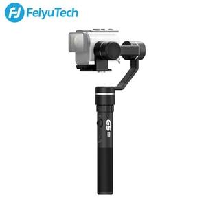 Image 2 - FeiyuTech G5GS כף יד Gimbal 3 ציר מצלמה מייצב עבור Sony AS50 AS50R X3000 X3000R Splash הוכחת 130g 200g מטען