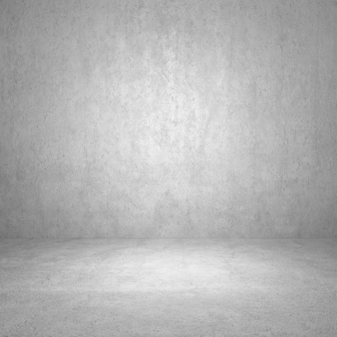 5x10ft Indoor Gainsboro Light Gray Concrete Wall Floor
