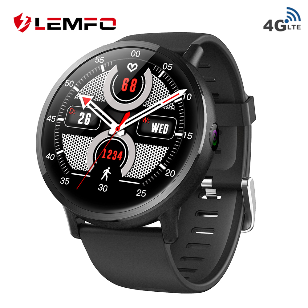 LEMFO LEMX LEM X 4G Smart Watch Phone Android 7 1 16GB 1GB 8MP Camera 900mAh