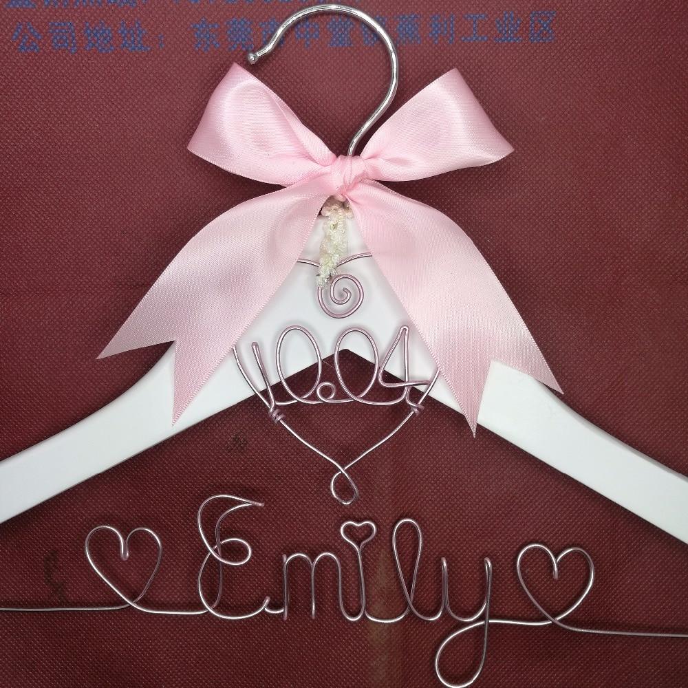 Lace Εξατομικευμένη Γάμος Hanger, - Οργάνωση και αποθήκευση στο σπίτι