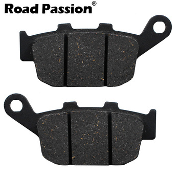 Road Passion Motorcycle Rear Brake Pads For Honda XL 600 XL600 (VM /VN /VP /VR /VT /VV /VW /VX) Transalp (91-00) image