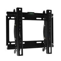 2016 New Black Adjustable Swivel LED LCD TV Wall Mount Bracket 32 Below Steel Support 20kg