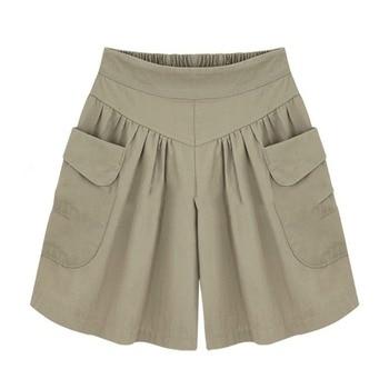Женские шорты большого размера, свободного покроя