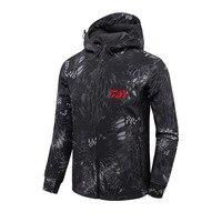 2018 DAIWA Fishing Shirts Autumn Winter Warm Outdoor Fishing Jackets sport Fleece hooded Fishing Jacket