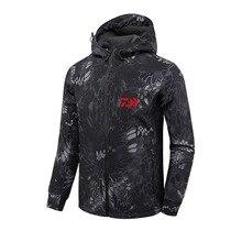 DAIWA camisetas de pesca para otoño e invierno, chaquetas de pesca cálidas para exteriores, chaqueta de pesca deportiva con capucha de lana, 2018