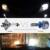 Para hyundai veloster sonata9 nueva santafe grand santafe coupe h7 faro kit de conversión con 2 unids adaptador plug & play luces led