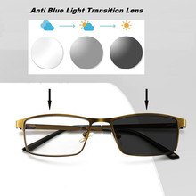 LH1 Anti Blue Light Transition Lens Glasses Photochromic
