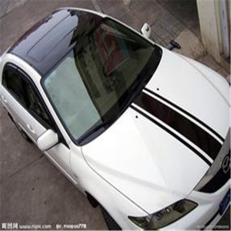 Mirror Gloss Pvc Car Decorative Glass Car Roof Protective