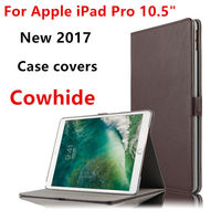 Case Cowhide For IPad Pro 10 5 Inch Covers Protective Protector Genuine Leather Tablet For Apple