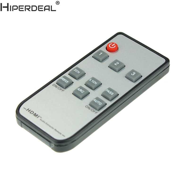 HIPERDEAL 4 K HDMI przełącznik Box selektor się ekstraktor audio Splitter łuku Oct27