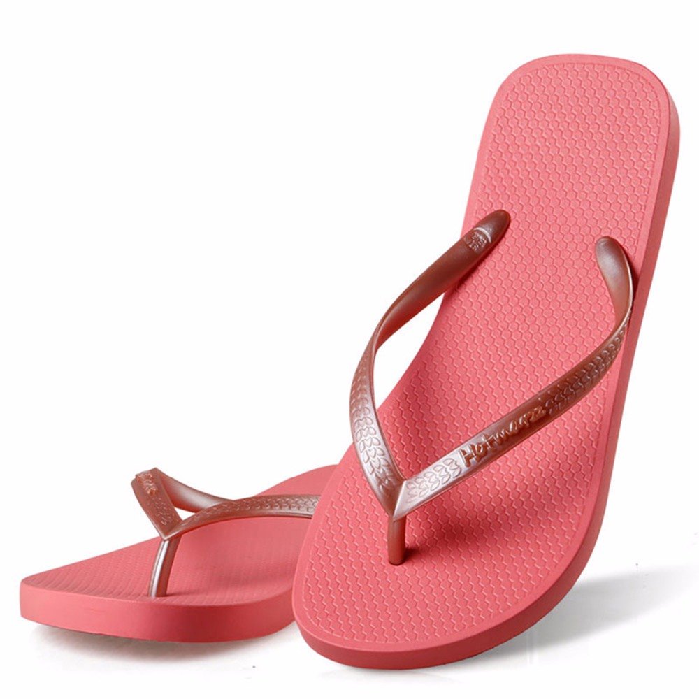 Image 5 - Hotmarzz Women Red Flip Flops Sandals Slim Slippers Summer Beach Shoes Rubber Designer Brand Slides House Shower Slippersshower slippersslimming slippersslippers summer -