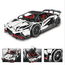 IN STOCK 23006 2838pcs New Technic Series The Hatchback Type R Set Building Blocks Bricks Educational Toys Boy Gifts Model