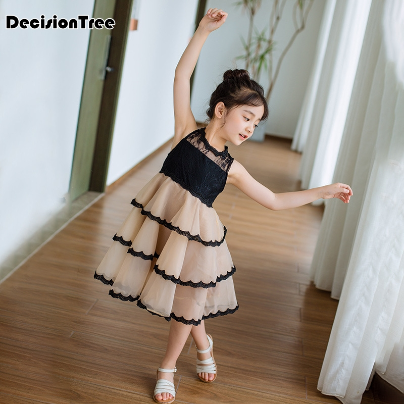 2019 new girls dresses cartoon wings tutu dress for girls kids princess dresses girls clothes robe enfant clothes 4