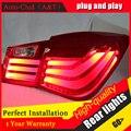 Авто Clud Стайлинга Автомобилей для Chevrolet Cruze Задние Фонари BMW Дизайн 2012 Cruze СВЕТОДИОДНЫЕ Задние Фонари Задний Фонарь DRL + Тормоз + парк + Сигнал led lig