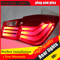 Auto Car Styling Clud para Chevrolet Cruze Luces Traseras de Diseño de BMW 2012 Cruze LED DRL + Freno de Cola Trasera de La Lámpara + parque + Señal led lig