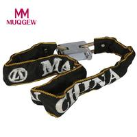 Dropshipping Heavy Duty Motorbike Motorcycle Scooter Bike Motor Bicycle Chain Pad Lock Bicycle Accessories Wholesale