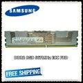Samsung Серверная память DDR2 8 Гб 16 Гб 667 МГц RAM ECC FBD PC2-5300F FB-DIMM полностью буферизированная 240pin 5300 8G 2Rx4