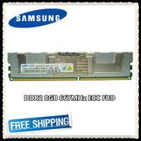 Samsung Server speicher DDR2 8 GB 16 GB 667 MHz RAM ECC FBD PC2-5300F FB-DIMM Fully Buffered 240pin 5300 8G 2Rx4