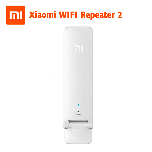 Stok Orijinal Xiaomi WIFI Tekrarlayıcı 2 Amplifikatör Genişletici 2 Evrensel Repitidor Wi-Fi Genişletici 300 Mbps 802.11n Kablosuz