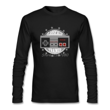 Video Game Tshirt 3d New Vintage 100% Cotton Crewneck Long Sleeve Family Custom Computer T Shirts