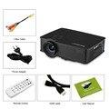 Excelvan gp9 ehd09 mini led proyector 800x480 píxeles ayuda 1080 p 2000 lúmenes de cine en casa hdmi/usb/sd/av/3.5mm gp9 proyector
