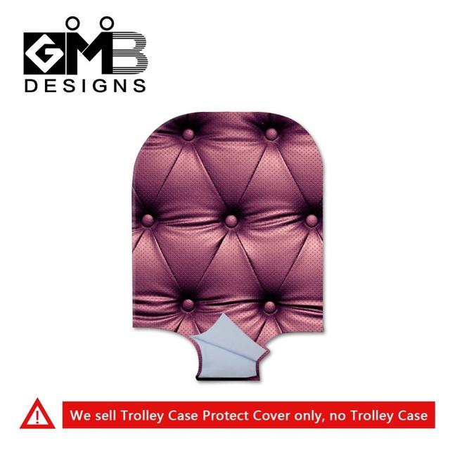 Bagagem do trole Stylish cobre para mulheres adultos spandex de proteção de bagagem cobre legal tampa mala bagagem capa bag para lady